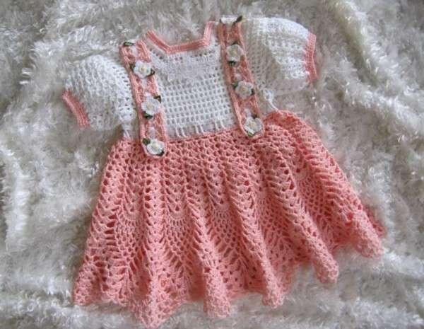 .::K�z bebek i�in �rg� elbise modelleri::.