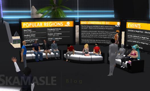 Escenario virtual