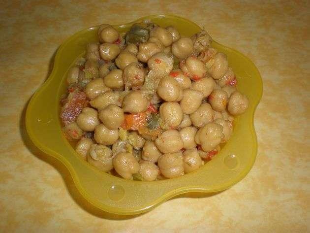 garbanzas - ▷ Muslos de pollo en jugo de cebolla  